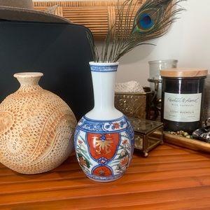 Little bohemian vintage china vase